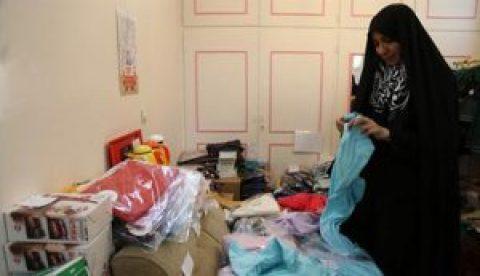 اقدام جالب یک خانم مسجدی برای فروش کالای ایرانی